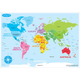 World Map Basic Smart Poly Learning Mat