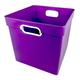 Cube Bin - Purple