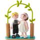 Bride & Groom (Little Friends)