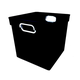 Cube Bin - Black