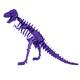 Larry the Tyrannosaurus Rex 3D Puzzle - Purple