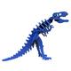 Larry the Tyrannosaurus Rex Mini 3D Puzzle - Blue