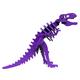 Larry the T-Rex Mini 3D Puzzle - Purple