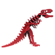 Larry the T-Rex Mini 3D Puzzle - Red