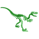 Moe the Velociraptor 3D Puzzle - Green