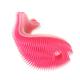 Silicone Fish Bath Scrub - Lght Pink/Fuchsia
