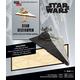 Star Wars Star Destroyer 3D Wood Model and Book