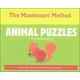 Animal Puzzles Preschool Activity Kit (Montessori Method)
