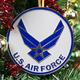 Heroes Series Ornament - Air Force Wings