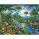 Discovery Island Puzzle (100 pieces)