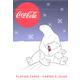 Coca-Cola Polar Bears Light/Dark Blue Cards