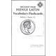 Henle Latin II Vocabulary Flashcards