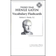 Henle Latin III Vocabulary Flashcards