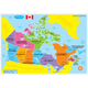 Canadian Map Basic Smart Poly Learning Mat