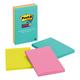 Post-It Super Sticky Notes, 4