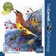 Cedar Waxwing - 100 piece Mini Puzzle (Cornell Birds)