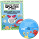 Teach & Learn Spanish in April (Book & CD)