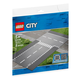 LEGO City Supplement Straight,T-Jnctn (60236)