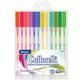 Collorelli Fluorescent Color Gel Pens - 12 count