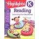 Kindergarten Reading (Highlights Learning Fun Workbook)