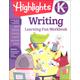 Kindergarten Writing (Highlights Learning Fun Workbook)