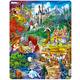 Grimm's Fairy Tales Puzzle (33 pieces - Maxi)