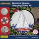 Nautical Mosaic Stepping Stone Kit (12