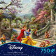 Snow White Dancing in the Sunlight (Thomas Kincaid) Disney Puzzle (750 piece)