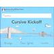 Cursive Kickoff Student Workbook