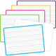 Double-Sided Writing Dry Erase Boards (pack of 5) (1 of each color 5 borders)