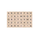 Essential Uppercase Letters & Numbers Stamp