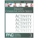 English Communication Skills: Chapter 3 Activities