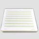 Quick & Neat Writing Pad: Homeschooling Ream 250 sheets (Channie's Handwriting)