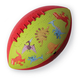 Dinosaurs Football - 8 inch