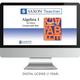 Saxon Math Homeschool Algebra 1 Teacher Digital License 1 Year Digital 3rd Edition