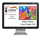 Atelier Online Art Curriculum - Enriched L2