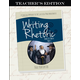 Writing & Rhetoric Book 10: Thesis - Part 1 Teacher