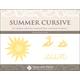 Summer Cursive Workbook