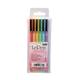LePen Extra Fine Tip Pens Pastel Set - Pack of 6