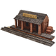 Ghost Town Train Station Construction Set