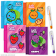 Cutie Fruities Sketch & Sniff Note Pad - assorted scent