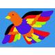 Bird Crepe Rubber Puzzle (27 pcs.)