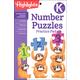 Kindergarten Number Puzzle Practice Pad