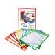 Reusable Dry Erase Pockets Primary Clr (10pk)