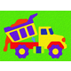 Dump Truck Crepe Rubber Puzzle (19 pcs.)