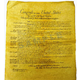 Bill of Rights 1789 Historical Document