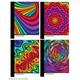 Color Slicks II Composition Notebook
