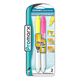 Glowline Dual Tip Erasable Pink and Yellow Highlighters (2 Pack)