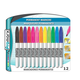 Permanent Assorted Colors Fiber Tip Markers (12 Count)