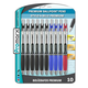 Premium Ballpoint Grippy Ultra 1.0mm Pens in Black, Blue, and Red (10 Pack)